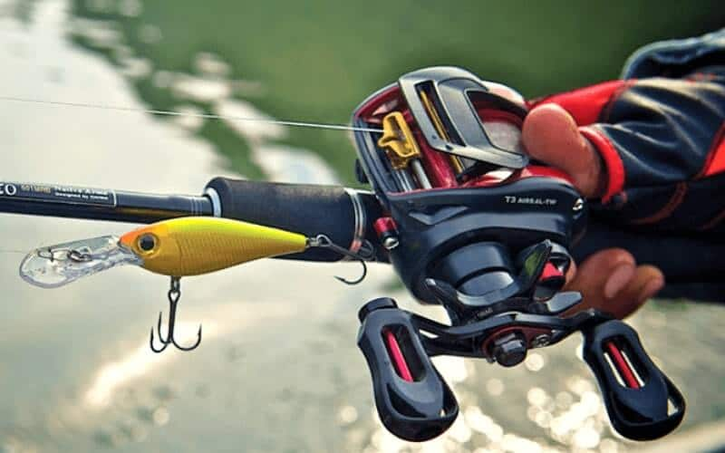 Baitcaster rod and reel combo