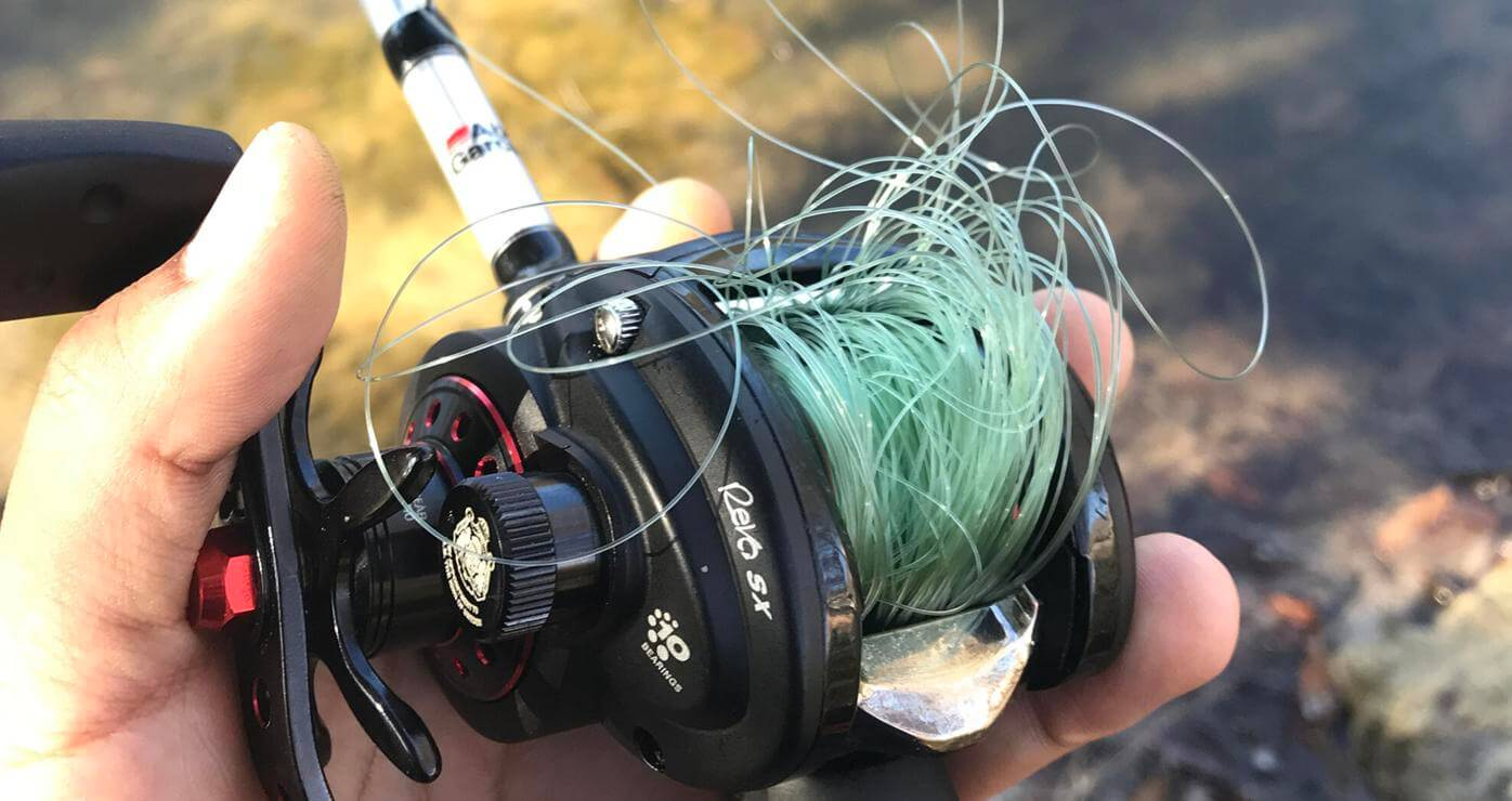 Use Mono Fishing Line